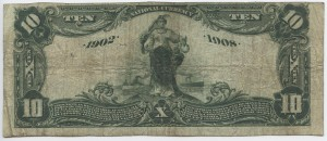 1902 Date Back $10 Note Charter #7757