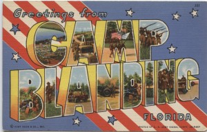 Camp Blanding Post Card