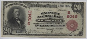 1902 Red Seal $20 Note Charter #S9049