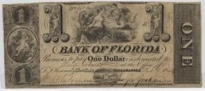 1844 $1 Note
