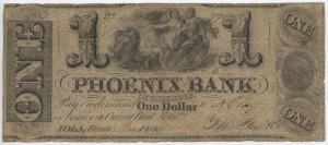 1842 $1 Note (Only Issued Note Known)