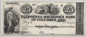 184_ 25 Cent Proof Note