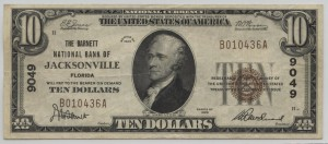 1929 Type 1 $10 Note Charter #9049