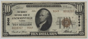 1929 Type 2 $10 Note Charter #9049