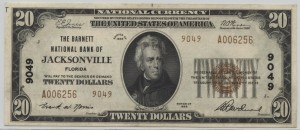 1929 Type 2 $20 Note Charter #9049