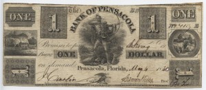 1840 $1 BB-B Plate Note