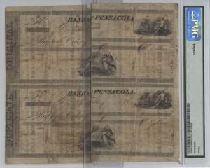 (2) Blocks of 4 uncut sheets of .50 Cent notes paired together creates old bonds on reverse
