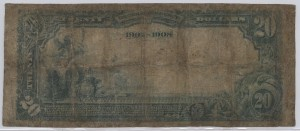 1902 Date Back $20 Note Charter #4558