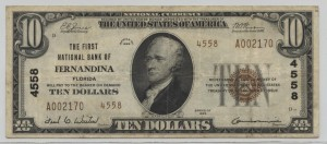 1929 Type 2 $10 Note Charter #4558