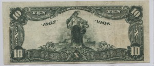 1902 Date Back $10 Note Charter #S9007