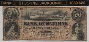 1859 $20 Note