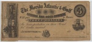 185_ $3 Unissued Note from Harley L. Freeman Collection
