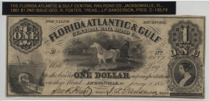 1861 $1 2nd Issue Note