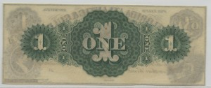 18__ $1 3rd Type Unissued Note Green Back