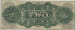 18__ $2 3rd Type Unissued Note Green Back