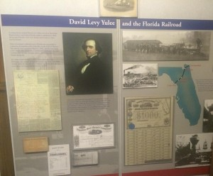 David Levy Yulee Railway Displaying Bonds such as the Florida Railroad Company $1000 Bond Signed by Secretary Call