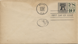 1960 Miami First Day of Issue