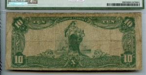 1902 Plain Back $10 Note Charter #8802