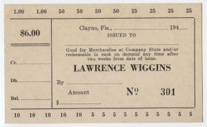 194_ Lawrence Wiggins $6 Unissued