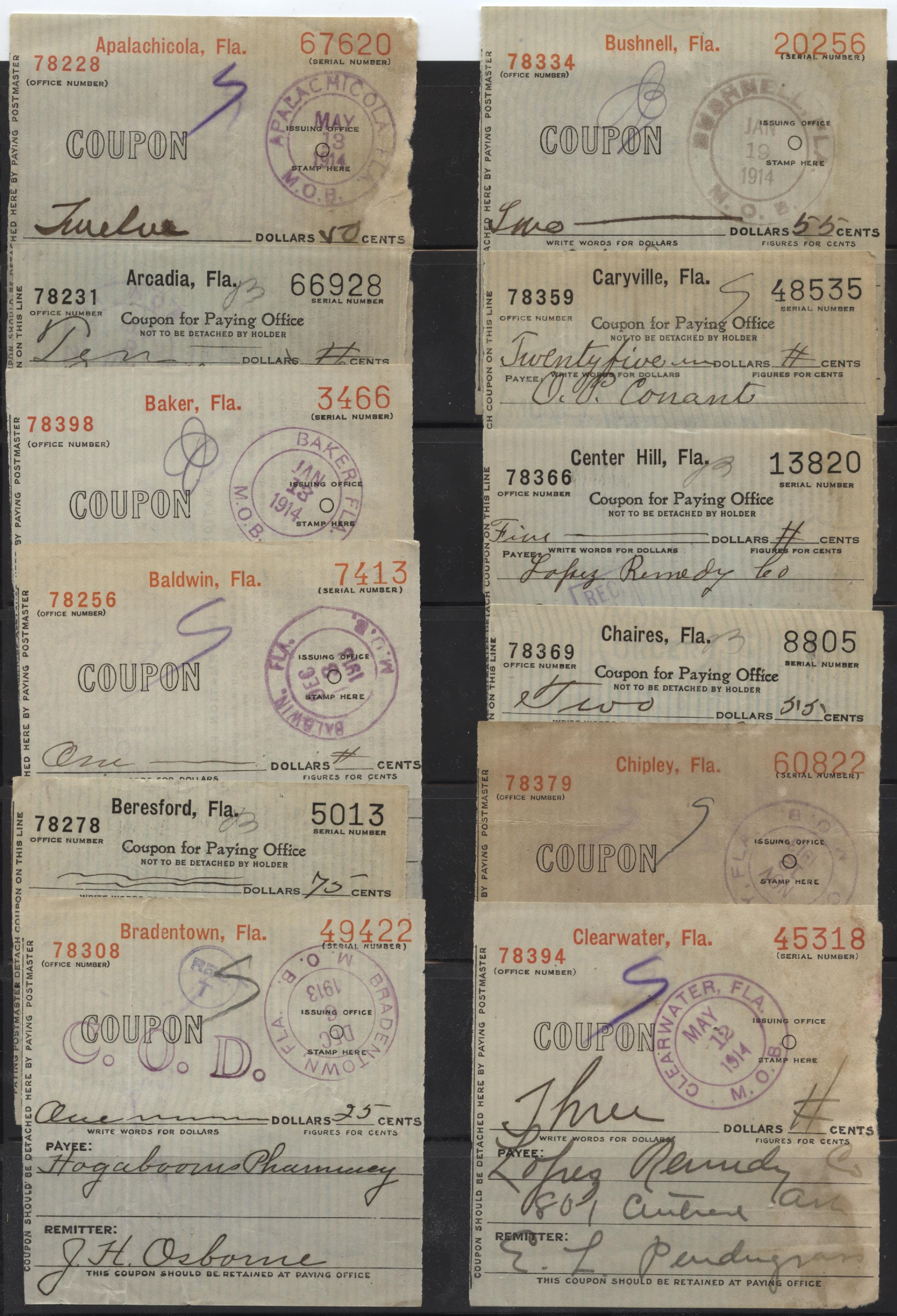 Postal Money Order Coupons | Hometown Currency