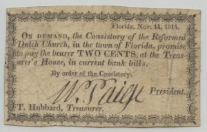 Nov 14, 1814 2 Cent Note