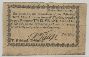 Nov 14, 1814 12.5 Cent Note
