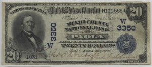 1902 DB $20 Note