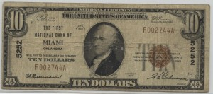 1929 Type 1 $10 Note