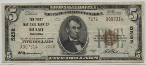 1929 Type 2 $5 Note