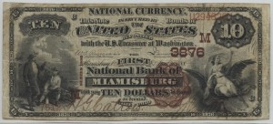 1882 BB $10 Note