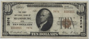 1929 Type 2 $10 Note