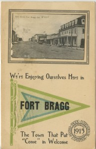 Main Street, Fort Bragg 1915