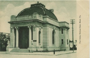 Fort Dallas National Bank Postcard