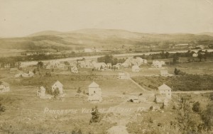Panoramic View of Fort Kent Postcard